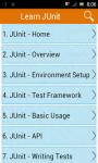 Learn JUnit screenshot 1/3