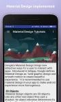 Material Design Tutorials-Free screenshot 4/6