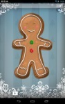 Gingerbread Man Live Wallpaper screenshot 4/6