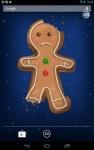 Gingerbread Man Live Wallpaper screenshot 5/6