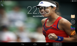 Female Tennis Wallpaper screenshot 1/4