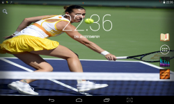 Female Tennis Wallpaper screenshot 3/4