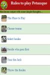 Rules to play Petanque screenshot 3/4