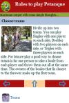 Rules to play Petanque screenshot 4/4