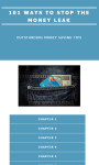 101 WAYS TO STOP THE MONEY LEAK screenshot 2/4