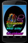 Precautions while using Earphones screenshot 1/3