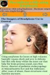 Precautions while using Earphones screenshot 3/3
