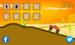 Monster truck hill racing screenshot 2/6