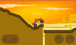Monster truck hill racing screenshot 3/6