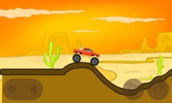 Monster truck hill racing screenshot 4/6