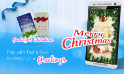 Merry Christmas Cards screenshot 1/3