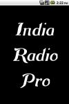 India Radio  Pro screenshot 1/3