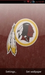 Washington Redskins NFL Live Wallpaper screenshot 1/3