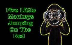 Kids Poem Little Five Monkeys screenshot 1/3