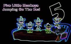 Kids Poem Little Five Monkeys screenshot 3/3