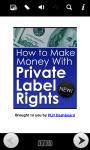 Make Money With PLR Guide screenshot 1/6