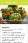 Healthy Vegetarian Recipes screenshot 5/6