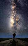 Watching Stars Live Wallpaper screenshot 1/3