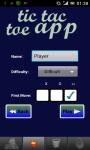 TicTacToe App  screenshot 2/3