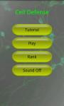 Cell Defense screenshot 1/3