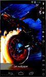 Tires On Fire Live Wallpaper screenshot 1/2