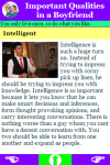 Important Qualities in a Boyfriend screenshot 3/3