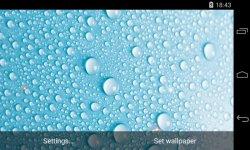 Water Drops Live Wallpaper 3D parallax screenshot 2/4
