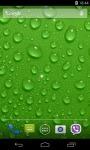 Water Drops Live Wallpaper 3D parallax screenshot 3/4