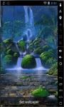 Waterfalls Garden Live Wallpaper screenshot 1/2