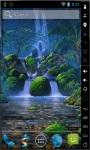 Waterfalls Garden Live Wallpaper screenshot 2/2