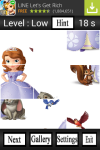 Sofia The First Puzzle Game screenshot 3/4