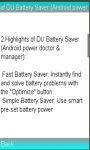 DU Battery Saver Pro Saver screenshot 1/1