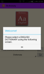 English Dictionary Pro screenshot 1/5