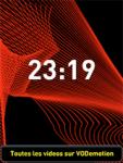 Time Waves - Clock screensaver screenshot 1/1