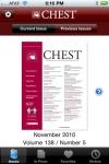 CHEST Journal screenshot 1/1