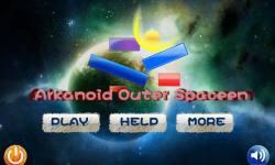 Arkanoid Outer Spaceen screenshot 1/6