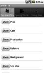 MovieTalk for Cinema Box Office screenshot 4/6