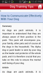 Easy Dog Training Tips And Tricks  screenshot 4/5