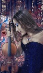 Guitar Girl Live Wallpaper screenshot 3/3