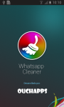 Whatsapp Cleaner screenshot 1/2