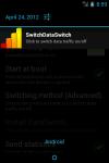 Switch DataSwitch screenshot 1/2
