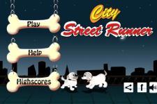 City Street Runner: Dog Jump screenshot 1/3