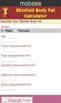Skinfold Body Fat Calculator screenshot 2/3