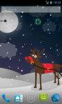 Winter Fireworks Live Wallpaper screenshot 1/4