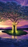 Magic Tree Live Wallpaper screenshot 1/3