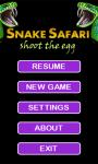 Snake Safari Symbian screenshot 2/4