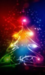 Neon Christmas Live Wallpaper screenshot 1/3