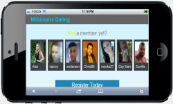 Millionaire Dating screenshot 1/4