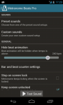 Metronoom Beats Pro original screenshot 3/6