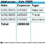 My Expense Tracker Free screenshot 2/2